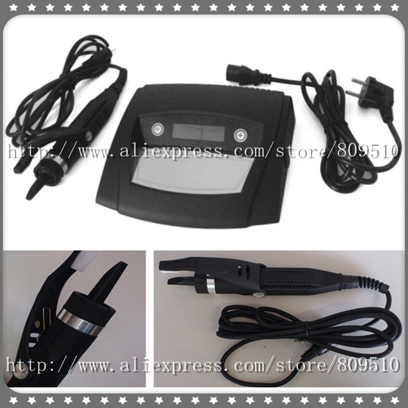 Latest Digital Ultrasonic Hair Extension Machine/ Connector GH-HC998 with All Black Handle, Free Shipping