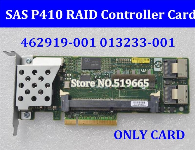 все цены на 462919-001 013233-001 Array SAS P410 RAID Controller Card 6Gb PCI-E(only card without ram) онлайн
