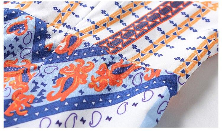 fb6681acad68 Estate 2017 Stile Coreano Vestito Dalla Spiaggia Donna Disegno Geometrico  Tunique Floreale Elegante Vestito Lungo Slittamento Vestito Prendisole  Vestidos in ...