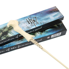 цена на Magic Trick  Potter Newest Voldemor Magic Wand Lord Kids Fashion Cosplay Gift Box Packing Xmas gifts Edc Toys