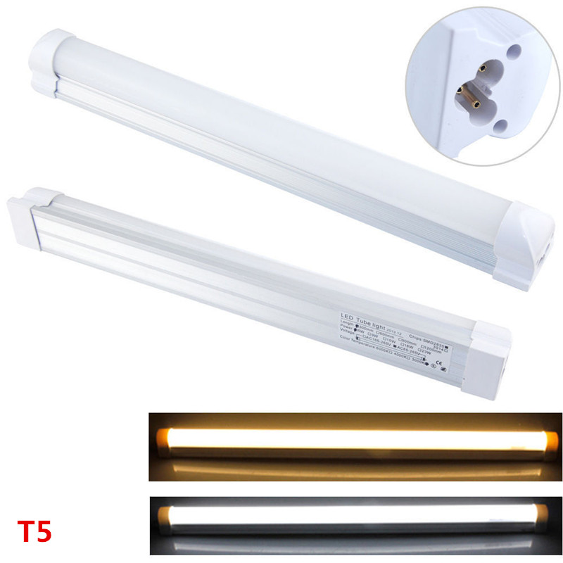 LED T5 Integrated Single Fixture, 2FT 3FT 4FT 9W 14W 18W