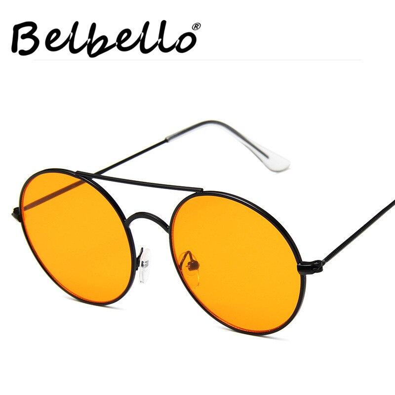 Belbello Goggle Sunglasses Popular Men Fashion Women UV400 Round Model