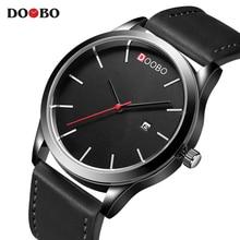 hot deal buy mens watches top brand luxury simple watches men doobo fashion clock dress men's quartz watch male hours 2018 erkek kol saati