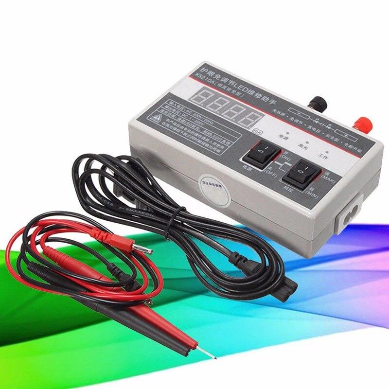 0-200 В 50 Гц цифровой светодиодный ЖК-дисплей ТВ Подсветка метр тестер лампа Бусины ремонт инструмент с кабелем ali88