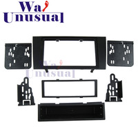 AU 007 Top Quality Radio Fascia for Audi A4 2000 2001 2002 2003 2004 Stereo Fascia Dash CD Trim Installation Kit Free Shipping