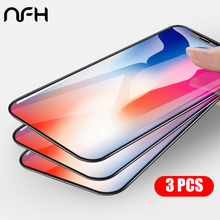 5PCS/lot 10PCS/lot For Glass IPhone X XR XS Max Screen Protector Tempered Glass For iPhone 8 7 6 6S Plus 5 5S Glass Phone Film angibabe heart shaped pattern tempered glass front screen back protector for iphone 5 5s white