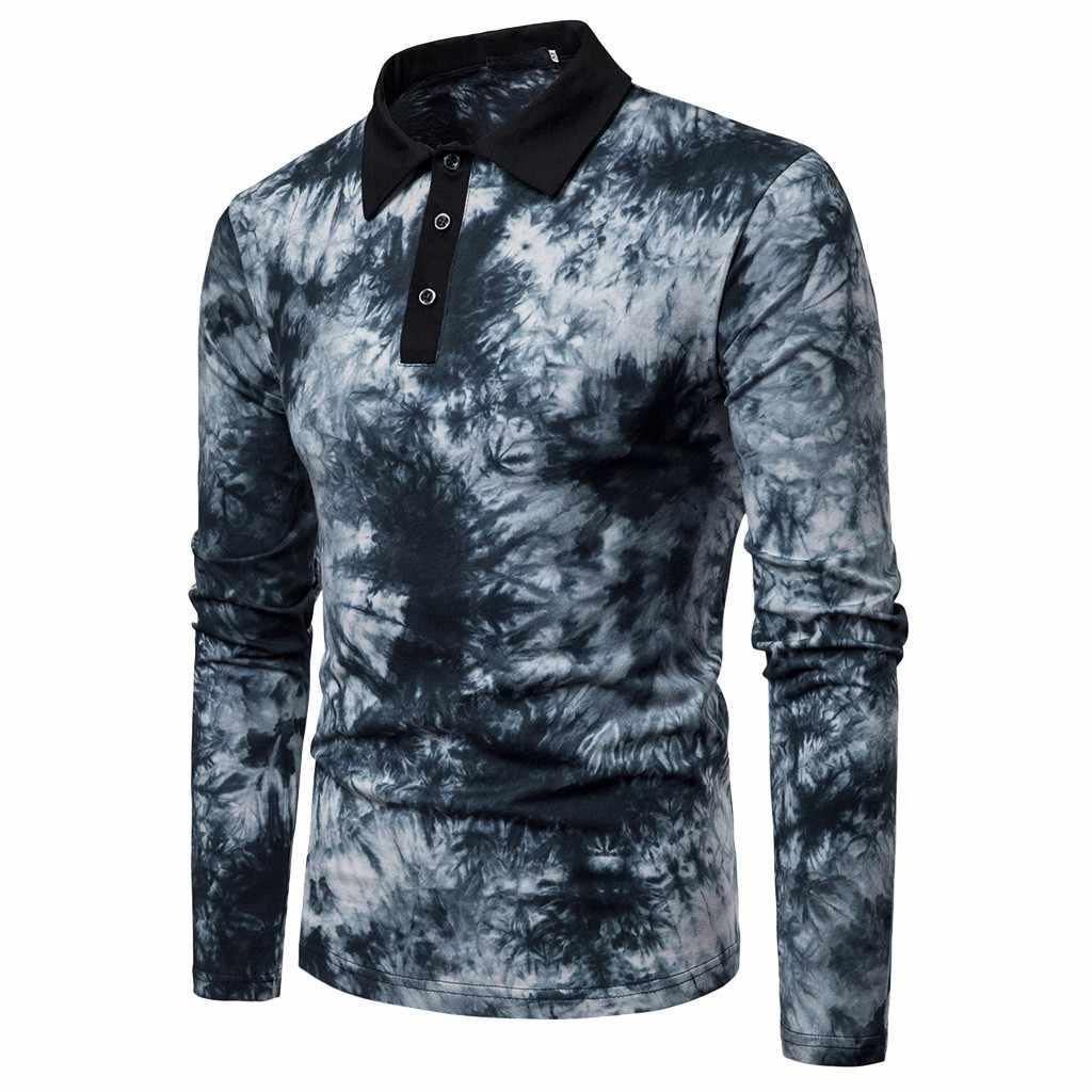 2019 新着メンズシャツ男性の春カジュアルスリムフィットシャツ長袖ボタンシャツトップブラウスカミーサ masculina #3