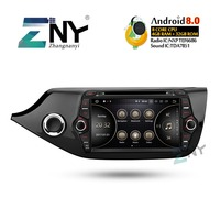 8 IPS 1280x720 Android 8.0 Car Stereo GPS For Kia Ceed 2012 2013 2014 2015 2016 2017 2018 +Optional DSP Carplay DAB+ Parrot BT
