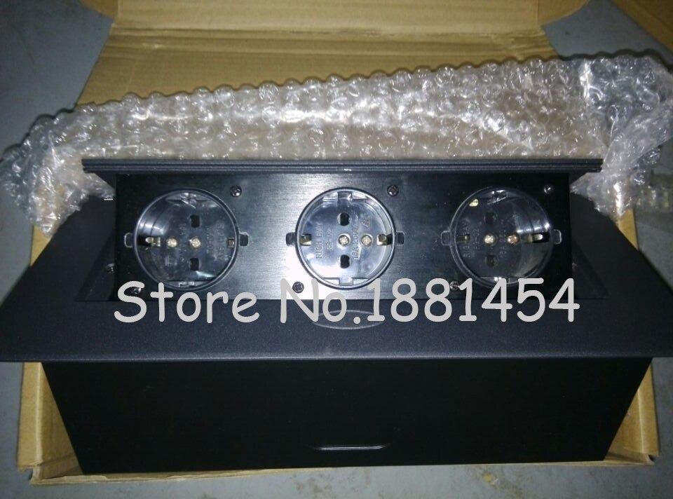 2018 New And high quality 3*EU power ,silver/black ,Thin edge/ Thick edge 2 pcs free shipping by DHL hy 218 mini usb power 8w speakers black silver 2 pcs