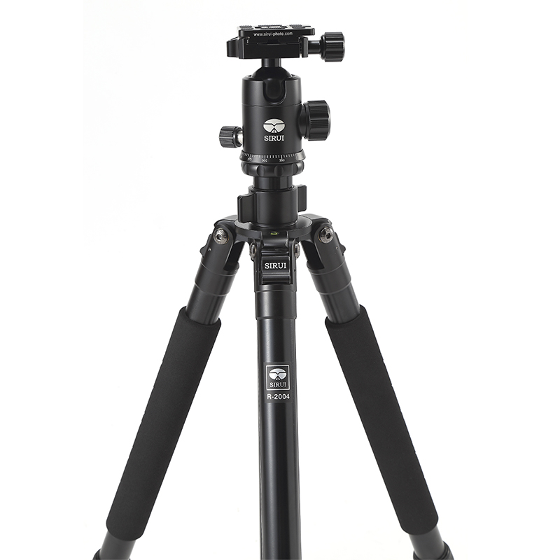 SIRUI New R2004+G20KX Tripod+Head Photography Set Aluminum Professional Tripod For Canon Nikon Sony SLR Portable Stable Bracket