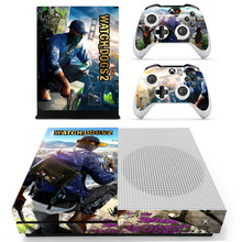 Game Watch Dogs 2 Skin Sticker For Microsoft Xbox One S Console and 2 Controllers For Xbox One S Skin Sticker