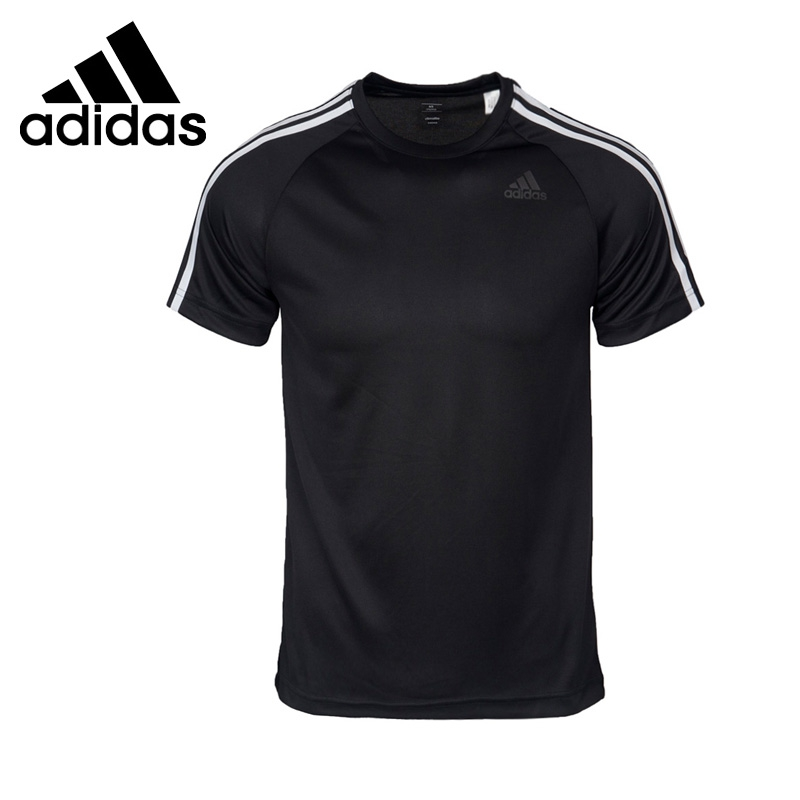 Original New Arrival 2018 Adidas Performance D2M TEE 3S Men's T-shirts short sleeve Sportswear