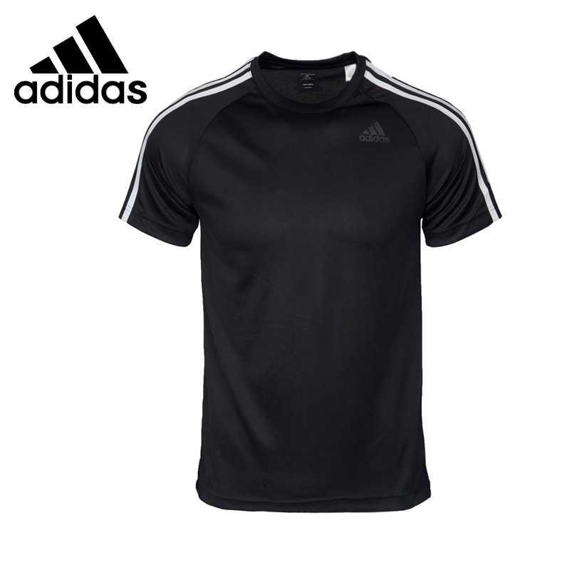 オリジナル新到着 2018 アディダスパフォーマンス D2M Tシャツ 3 s 男性の Tシャツ半袖スポーツウェア