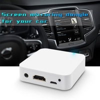 MiraScreen Car WiFi Display Dongle WiFi Mirror Box Airplay Miracast DLNA GPS Navigation Car for iOS Android Phone TV White