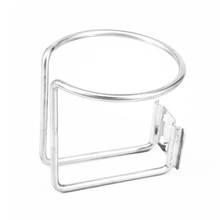 One Pair High Quality Stainless Steel Car SUV Ring Cups Drink Holder