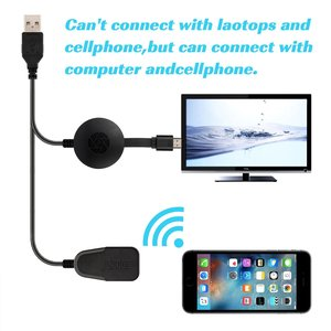 Image 5 - Wireless Display Dongle,WIFI Portable Display Receiver 1080P HDMI Miracast Dongle for iOS iPhone iPad/Mac/Android Smartphones