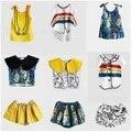 2017 kikikids бобо выбирает волк рита мальчики девочки майка юбка короткая девочек dress детская одежда vestido infantil