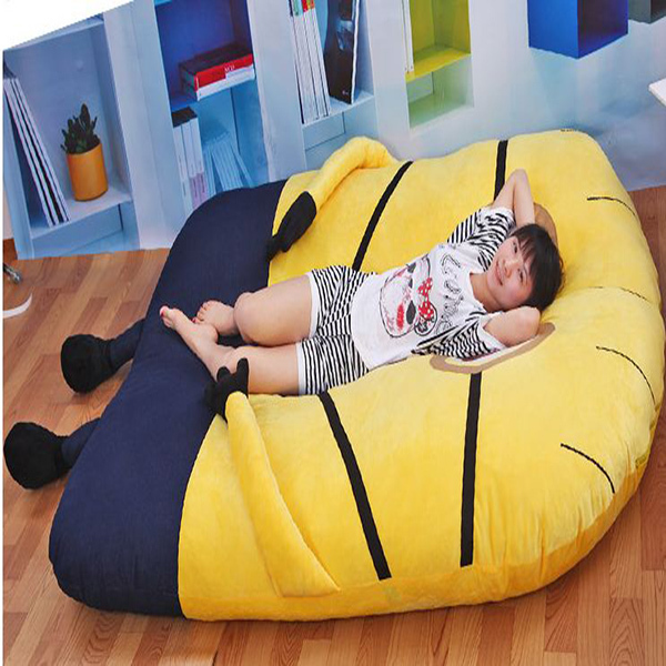 1 5 2 M Cute Minions Sleeping Bed Stuffed Animals Thicken Double