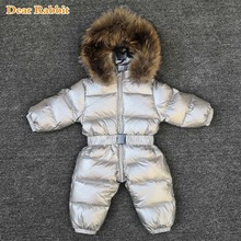 Romper Coat Parka Baby-Wear Snow-Clothes Down-Jacket Infant Girl Winter Thick Boy Waterproof