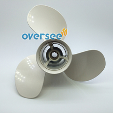 OVERSEE Propeller 664-45954-00-EL-00 Size 9 7/8×12 For Yamaha Outboard Motor  25HP 30hp 61N 69P 9 – 7/8 x 12