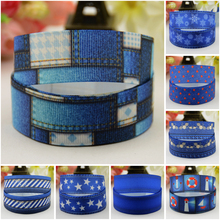 7/8'' (22mm) New Jeans style Cartoon Character printed Grosgrain Ribbon party decoration satin ribbons OEM 10 Yards 7 8 22mm owl cartoon character printed grosgrain ribbon party decoration satin ribbons oem 10 yards