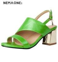 2017 New High Heels Sandals Fashion Women Sandals Open Toe Dress Shoes Woman Office Ladies Shoes