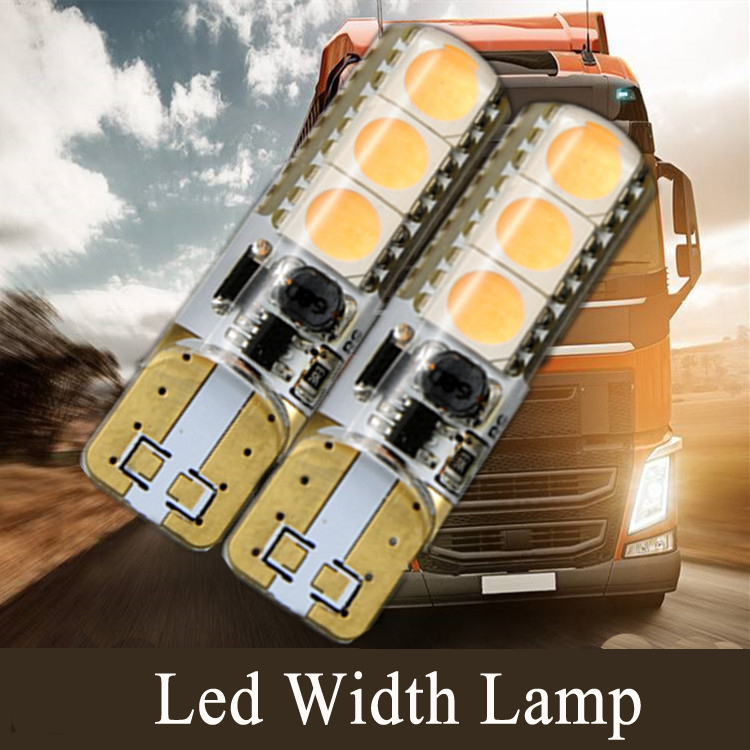 24 v T10 led clearance bulb lesen w5w Strobe gelb rot warm weiß Auto Auto Side Wedge lichter