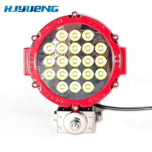 Image 3 - 1PCS Black / Red / Yellow offroad Led Work light 7inch 63w Led Driving Light Spot Beam for atv suv 4x4 truck vehicle
