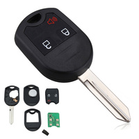 Auto Car Uncut Remote Head Ignition Key Keyless Entry Combo Transmitter Fob For Ford Lincoln Mercury