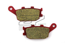 Motorcycle parts Ceramic Brake Pads Fit HONDA CB 600 S8/S9 (No ABS) 2008-2009 Rear OEM New Red Composite Free shipping