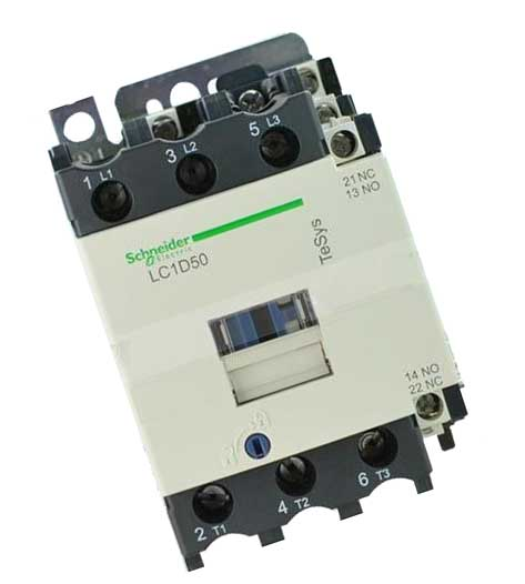New LC1D50M7C Contactor 50A AC 220V 50/60Hz LC1-D50M7C gmc 220 ac electromagnetic contactor brand new