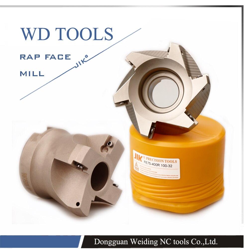 RAP 400R 80-27-5T Diametro di taglio del laminatoio per spianatura - Macchine utensili e accessori - Fotografia 3