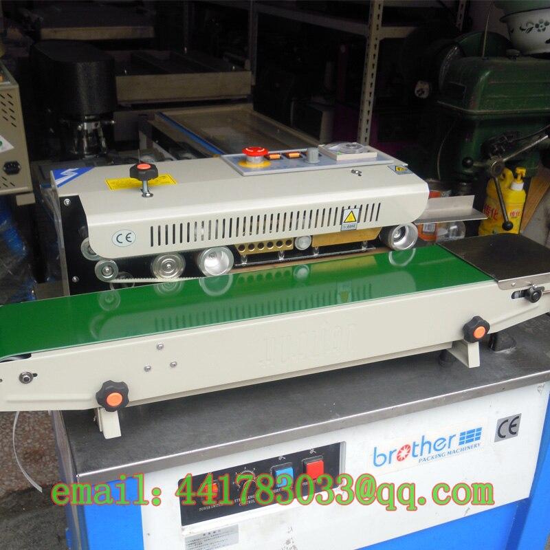 FRB-770I Continuous Sealing Machine Plastic Bag Sealing Machine Food Bag Sealing Machine Nylon Bag Automatic Sealing Machine