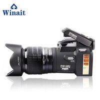 Winait поло бренд 33 MP цифровых зеркальных Камера 8x цифровой зум 24 x Оптический зум full hd 1080 P цифровой зеркальной видео Камера