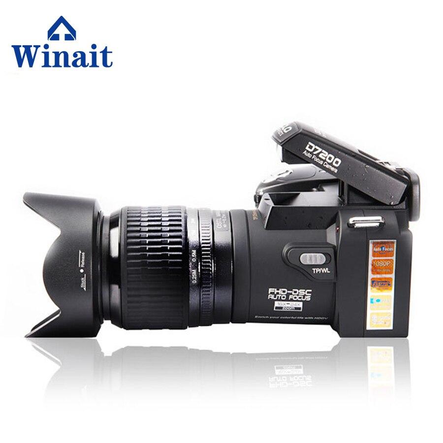 Winait Polo Brand 33 MP digital DSLR Camera 8x digital zoom 24 x optical zoom full hd 10 ...
