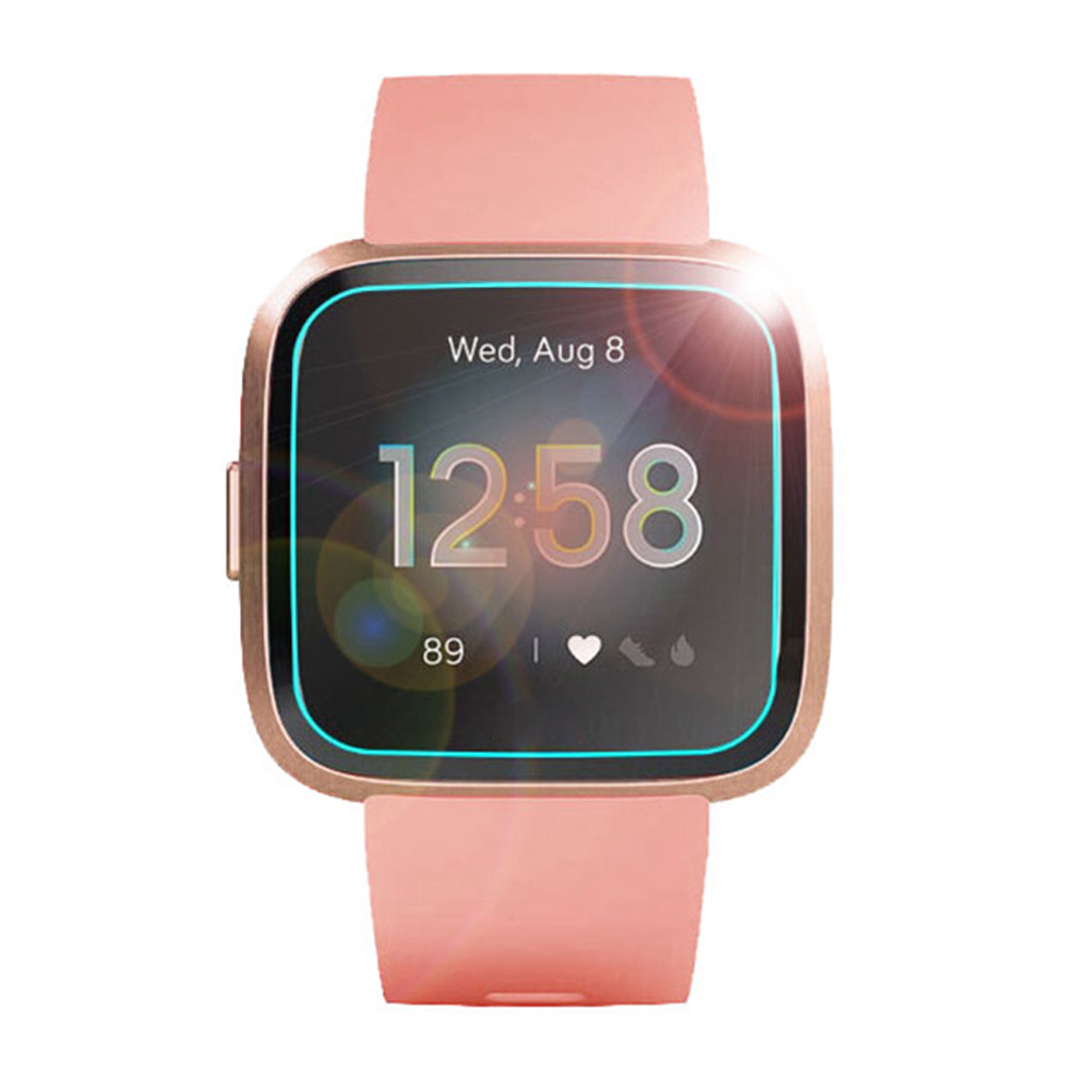 HOT SALE] 5pcs Tempered Glass For Fitbit Versa Lite Smart