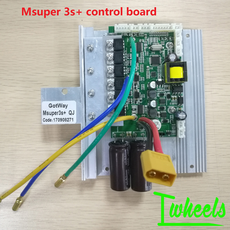 GotWay Msuper 3 67 2V Msuper 3s 84V 12mosfets CPU control board replacement mainboard