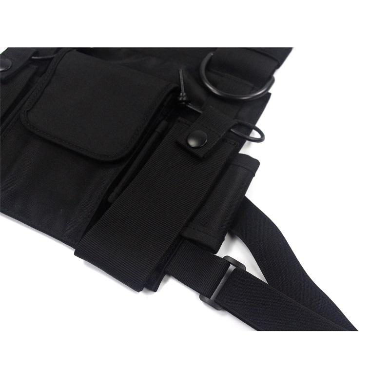 Men's Tactical Shoulder Chest Rig Bag 11