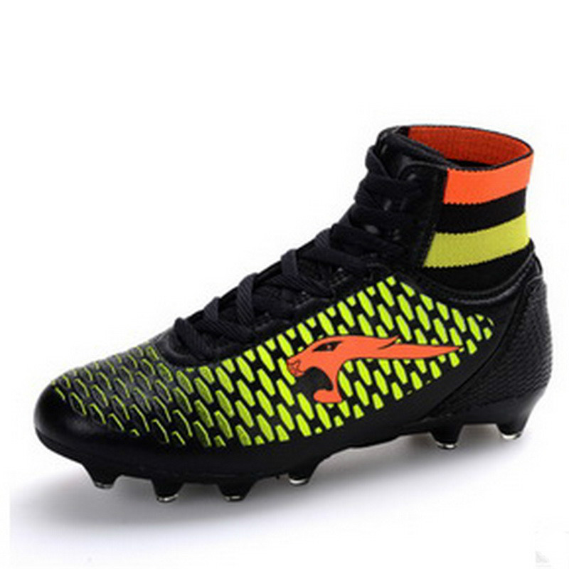 High Ankle Football Boots Kids Botines Botas Futbol 2017 Youth Superfly Soccer Sports Shoes Outdoor Training