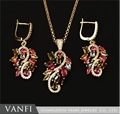 2016 fashion trendy party wedding bridal Luxury Austrian crystal Jewelry Sets