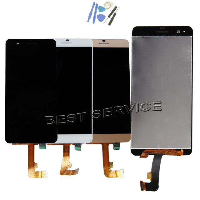 US $23 28 8% OFF For Huawei Honor 6 Plus LCD Display + Touch Screen  Digitizer Assembly Replacement Screen Black/White gold-in Mobile Phone LCDs  from
