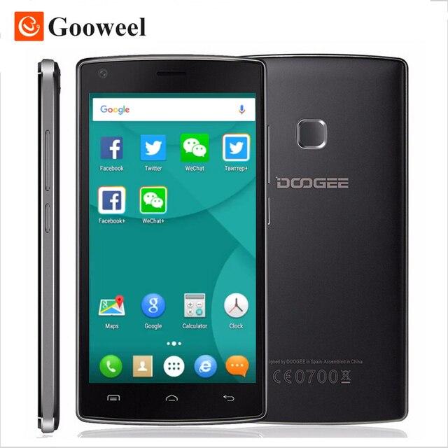 Original Doogee X5 MAX PRO 5.0inch HD Smartphone MTK6737 Quad Core 2GB RAM+16GB ROM Cell Phone 4000mAh Mobile Phone Fingerprint