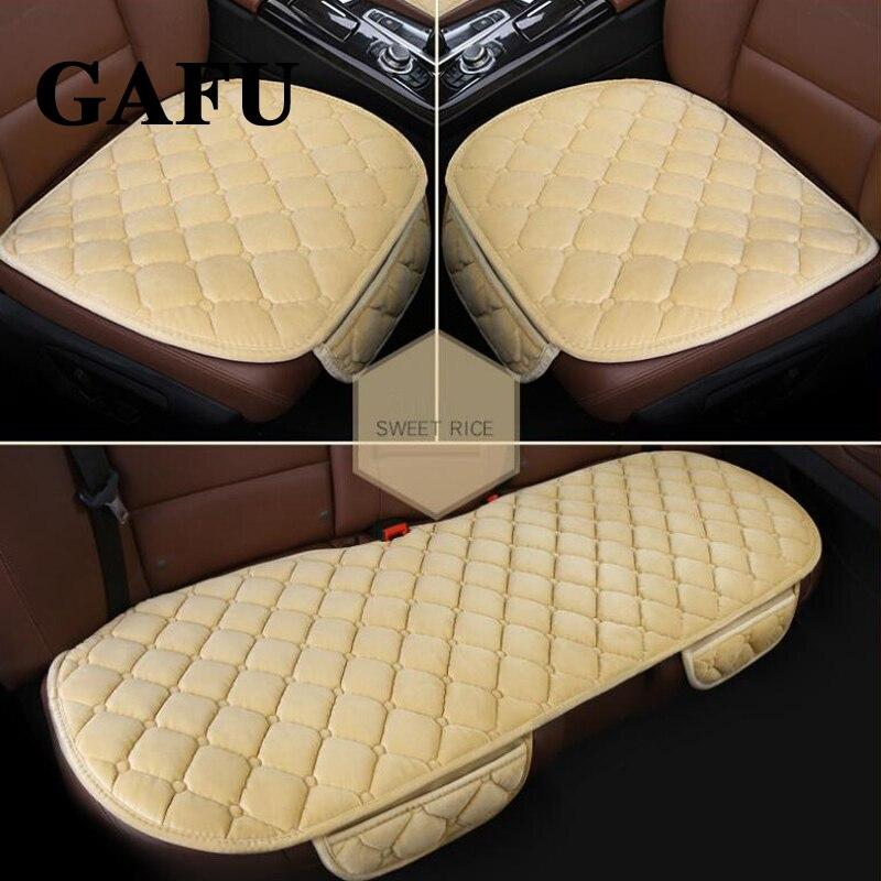 For Mitsubishi Outlander 2018 Car Seat Cover Winter Goods Accessories Car Seat Cushion Cover Pad Mats Non Slip Auto Protectors
