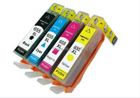 FOR HP 655 HP655 XL BK C M Y 4 Color Compatible Ink Cartridge For Hp