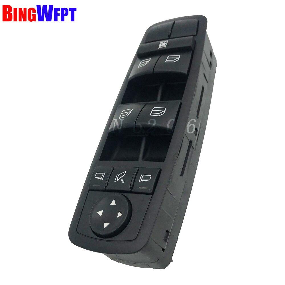 Haute qualité NOUVEAU Commutateur De Vitre Électrique A2518300290 Pour Mercedes W164 GL320 GL350 GL450 ML320 ML350 ML450 ML500 R320 R350