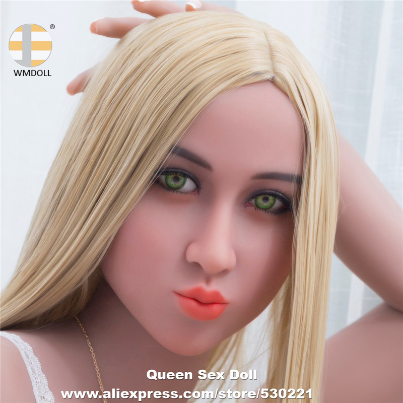 WMDOLL Top Quality Real <font><b>Sex</b></font> <font><b>Dolls</b></font> Head For Silicone Adult <font><b>Doll</b></font> Real Life Japan Heads With Oral Sexy Can Fit For 145cm To <font><b>172cm</b></font> image