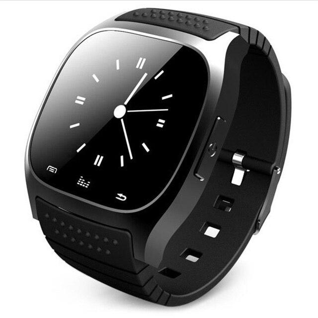 Smartwatch M26 Bluetooth Смарт Часы Носимых Устройств для iPhone IOS Android Windows Phone Спорт Whatch Smartfone Носить Smartwach