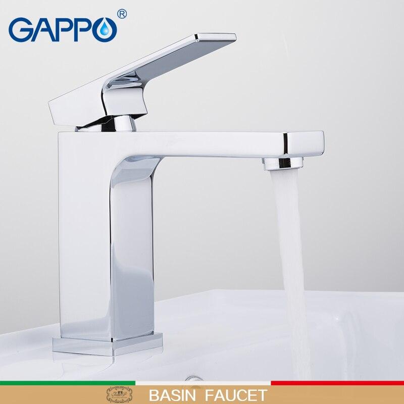 GAPPO Havza Musluk su dokunun lavabo musluk güverte üstü pirinç musluklar banyo havzası musluk mikser şelale musluk evye musluğu