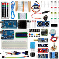Starter Kit For Arduino UNO R3 &Mega2560 Board for LED 1602 LCD Servo Motor Relay Sensor Module Learning Basic Suite /USB Cable