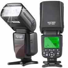 K&F CONCEPT KF882 Wireless Flash Speedlite TTL HSS High Speed Sync 1/8000s Master Slave GN58 for Nikon Canon DSLR Camera